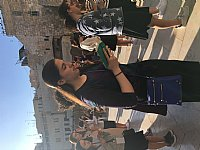 First day - Mincha at the Kotel Photos